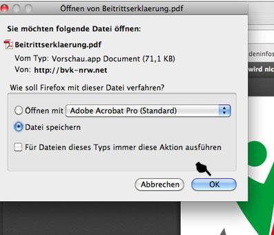 Bild 3 – Datei speichern